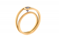 750/-Gold, Saphir